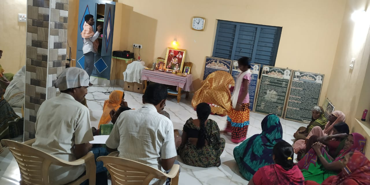 5th March 2020  Weekly Aaradhana at Jagannadhapuram ,Kotananduru Mandal,E.G.Dt