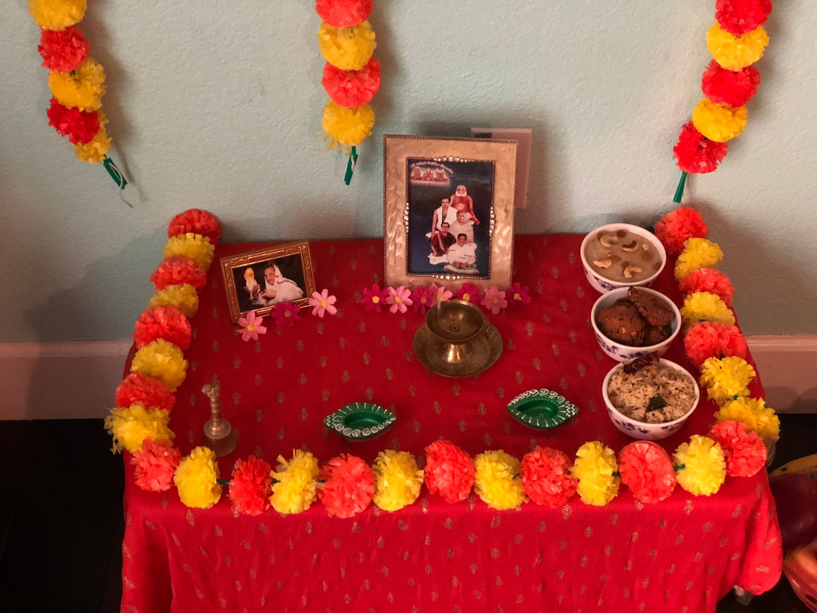 USA – March Monthly Aaradhana conducted in Online at Smt.Bhupathiraju Neelima home on 7th March 2020