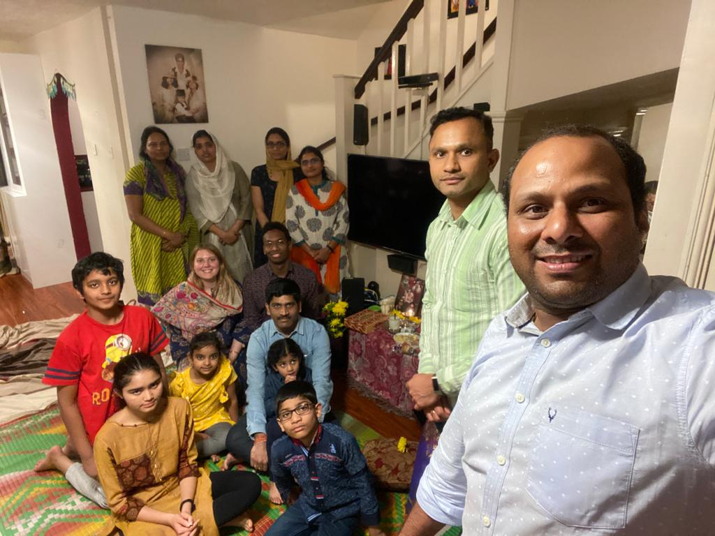 London Aaradhana at Mrs.Gubbala Baghyalakshmi's house on 12th March 2020
