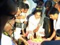 Dr Umar Alisha offering Harathi to Holy Godavari at Rajahmundry Gowthami ghat