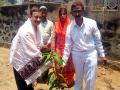 Sathguru Dr.Umar Alisha has planting saplings at Kannapuram Ashram  on the occasion of Vysakhamasam