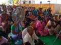 Disciples attended at Madhuru Ashram  on the occasion of Vysakhamasam