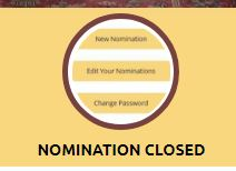 Nomination Closed