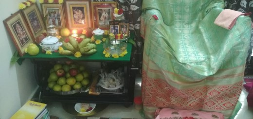 Yearly-Aaradhana-conducted-at-Bhimavaram-in-Kalidindi-AnandaRaju-Satyavathi-home