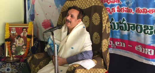 Sathguru-Dr.Umar-Alisha-in-Karthika-Masam-Tour-Tuni-East-Godavari-District-AP