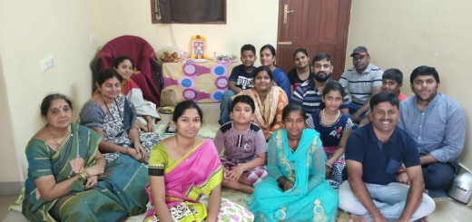 20190922-Bangalore-monthly-Aaradhana-at-Rajeev-Varma-home