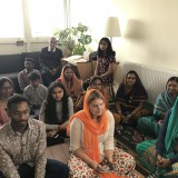 London-Aaradhana-at-Mr.Peruri-Vijays-house-on-7th-Oct-2018