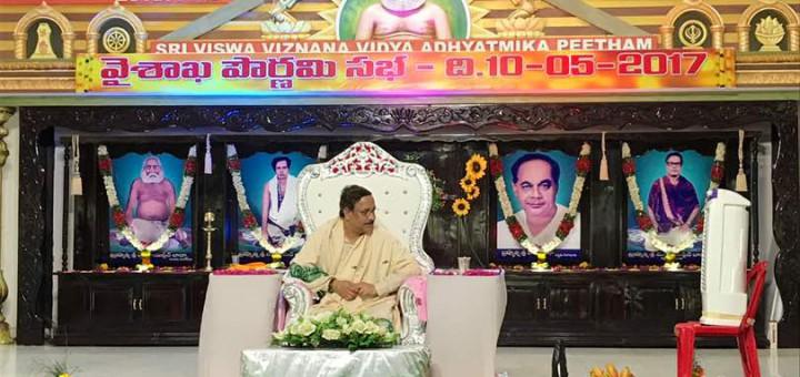 Sathguru-Dr.Umar-Alisha-in-Vysakhamasam-sabha-at-Pithapuram-New-Ashram